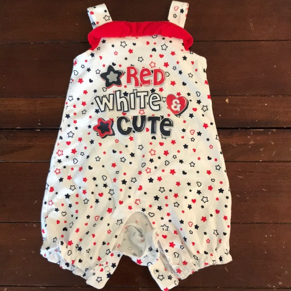 30c35ae30 One Pieces | Must Bundle Baby Girls 4th Of July Romper | Poshmark
